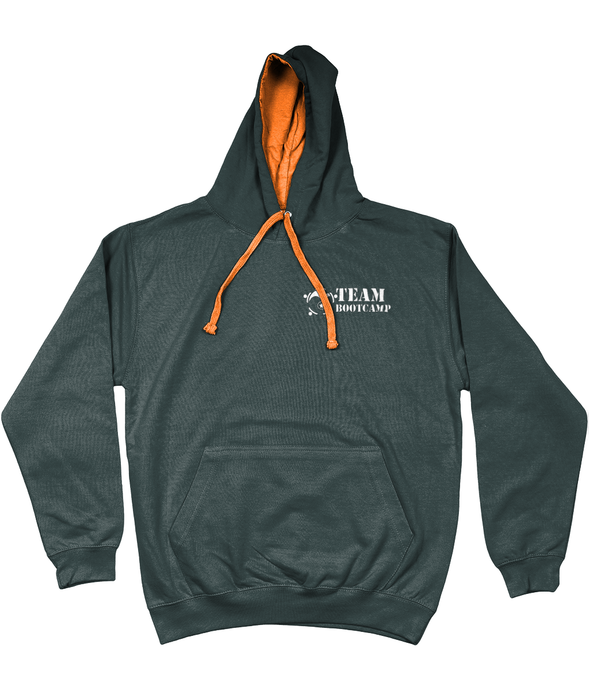 #ClassicCollection - Quality Contrast Hoodie | Team Bootcamp