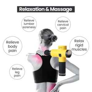 【Last Day Promotion 60% OFF】4 In One Body Deep Muscle Massager [Relieve Pain + 3 Speed Setting]