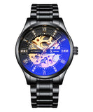 IK Colouring® 41mm Black Elegant Watch