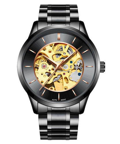 IK Colouring® 41mm Black Classic Chronograph Watch