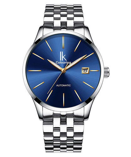 IK Colouring® 40mm Sliver Casual Day Date Watch
