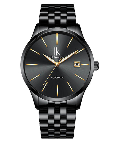 IK Colouring® 40mm Black Casual Day Date Watch