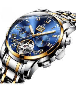 IK Colouring® 42mm Golden Traditional Chronograph Watch