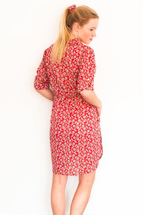 Red Vine Bella Dress