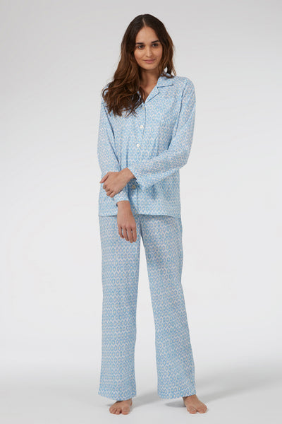 Blue Hexagon Classic Pyjama Set