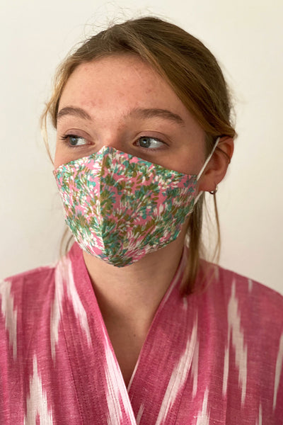 Bindy cotton print reusable face mask