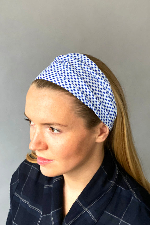 Blue Dash Headband