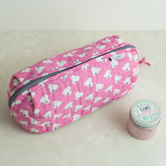 Pink Solero Bella Make up bag