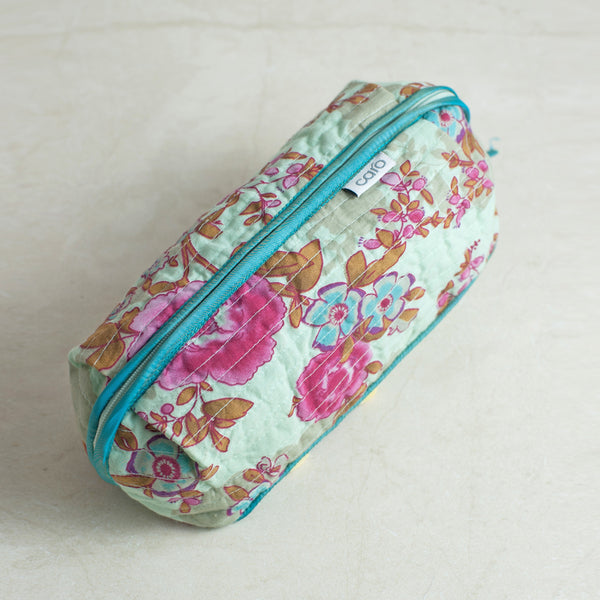 Blue Beautiful Bella Make up bag