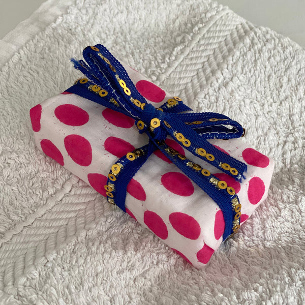 Neroli & Orange Soap in Pink Spot