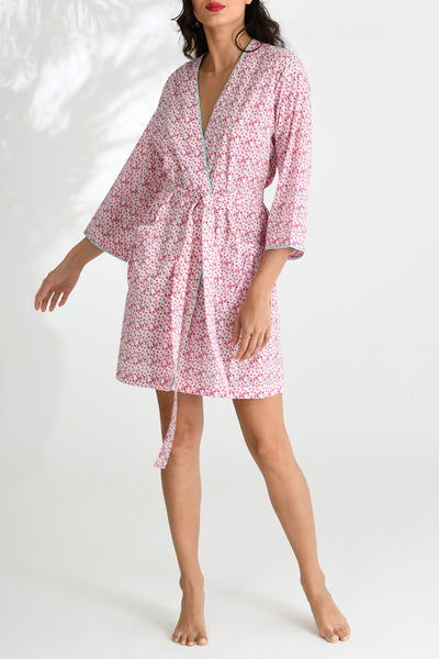 Petal Ditzy Short Robe