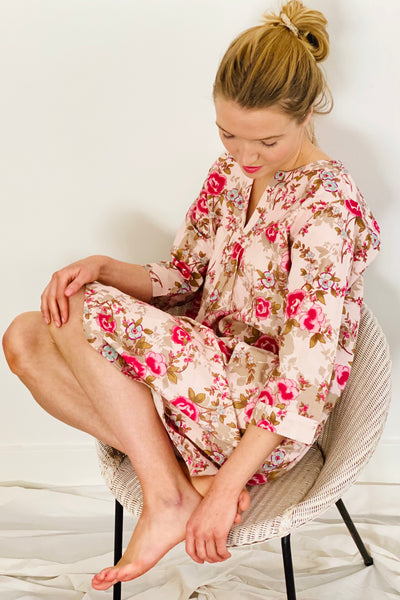 Pink Beautiful Florence Kaftan Nightie