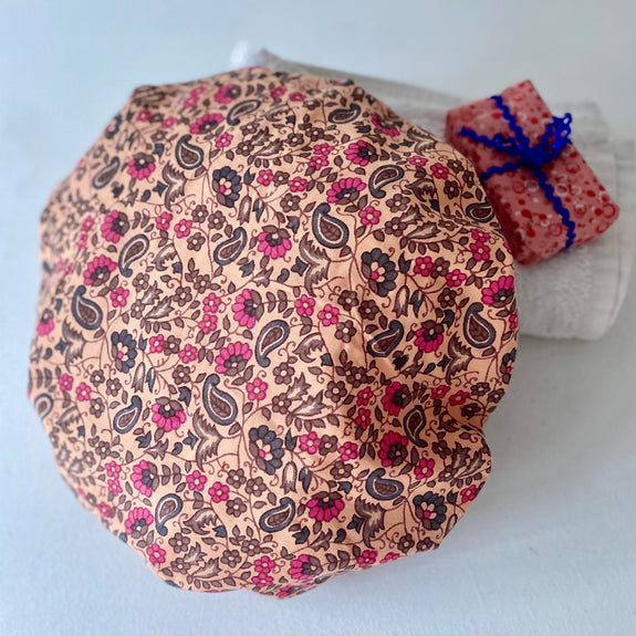 Pretty Paisley Bath Hat