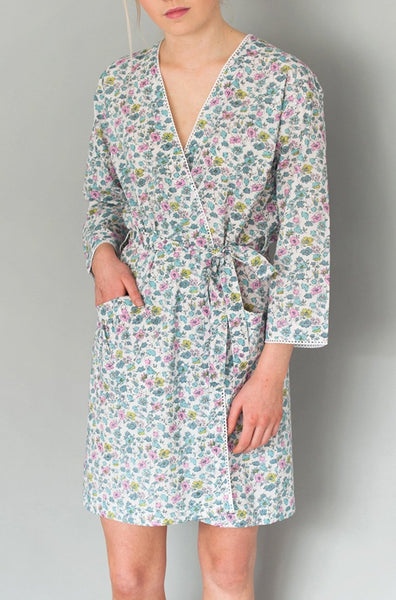 Isabel Vintage Short Robe