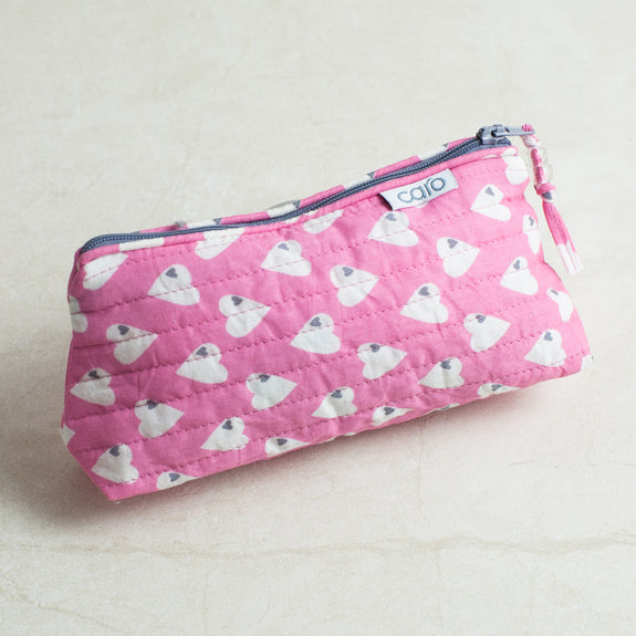 Pink Solero Mini Make up bag