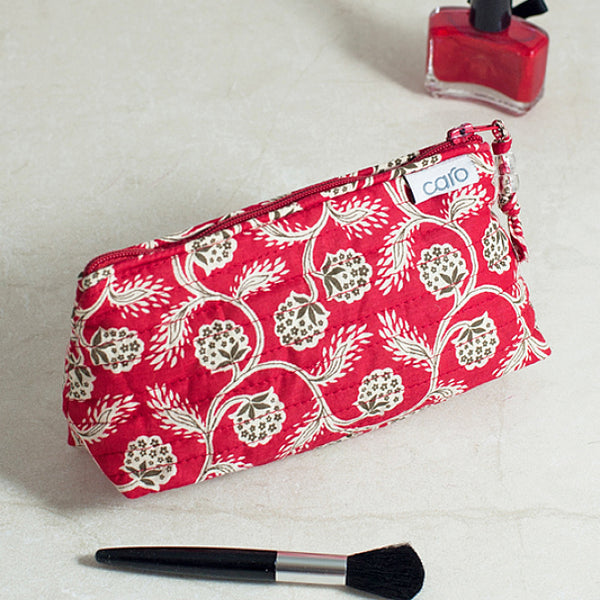 Red Vine Mini Make up bag