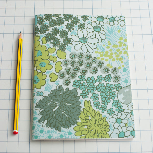 Green Bloom Notebook