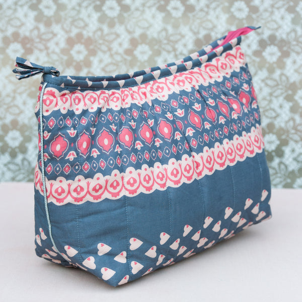 Grey Solero Pagoda Washbag