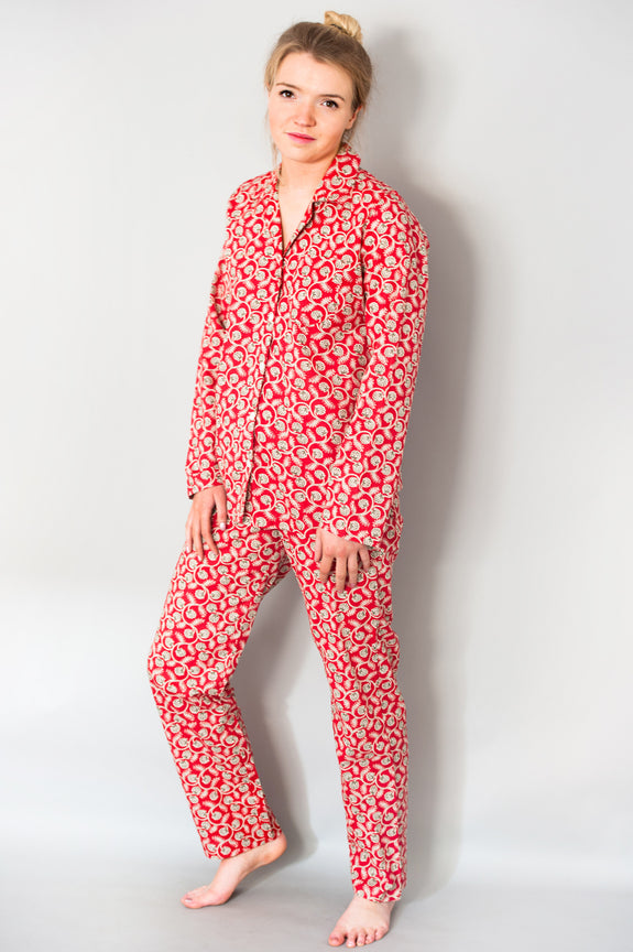 Red Vine Classic Pyjama Set