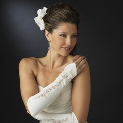 Designer Fingerless Bridal Glove