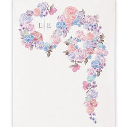 Floral Dreams Personalized Backdrop
