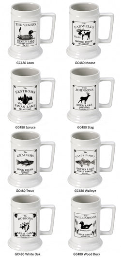 Cabin Series Steins
