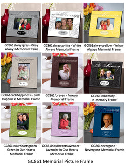 Memorial Frame - Available in 9 designs