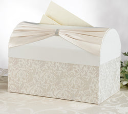 Card Box - White or Ivory