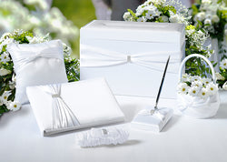 Sash Wedding Set - White or Ivory