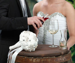 Wine Glass & 2 Carafes Ceremony Set