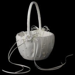 Bridal Flower Girl Basket