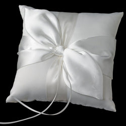 Bridal Love Knot Ring Bearer Pillow