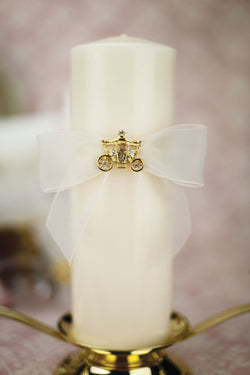Cinderella Fairy Tale Coach Wedding Unity Candle