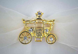 Cinderella Fairy Tale Coach Wedding Ring Bearer Pillow