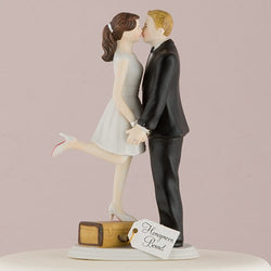 """A Kiss and We're Off!"" Figurine"