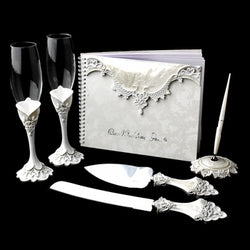 Complete Victorian Bridal Accessory Set Package