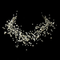 Freshwater Pearl Illusion Couture Necklace