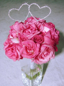 Crystal Heart Bouquet Jewelry - Heart Pick