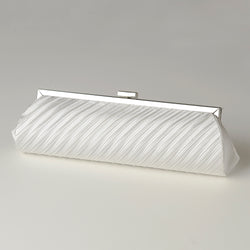 Pleated Satin Evening Bag - Available in a variety of colors