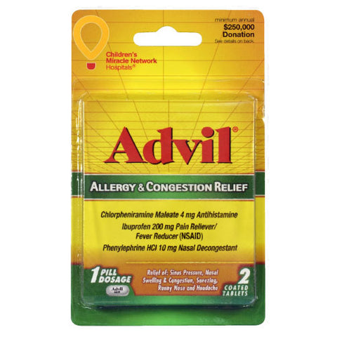 Advil Allergy & Congestion Relief