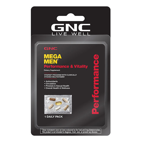 GNC Mega Men® Performance & Vitality (vitapak®)