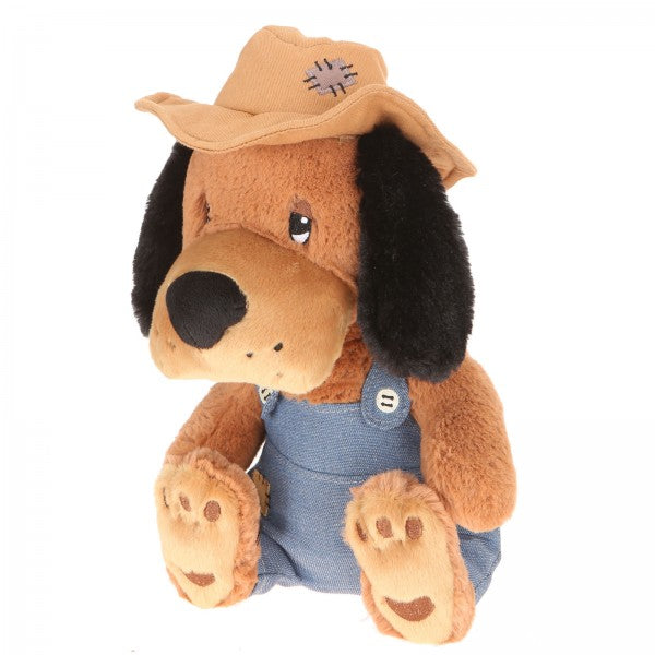 "10"" Plush Country Dog"