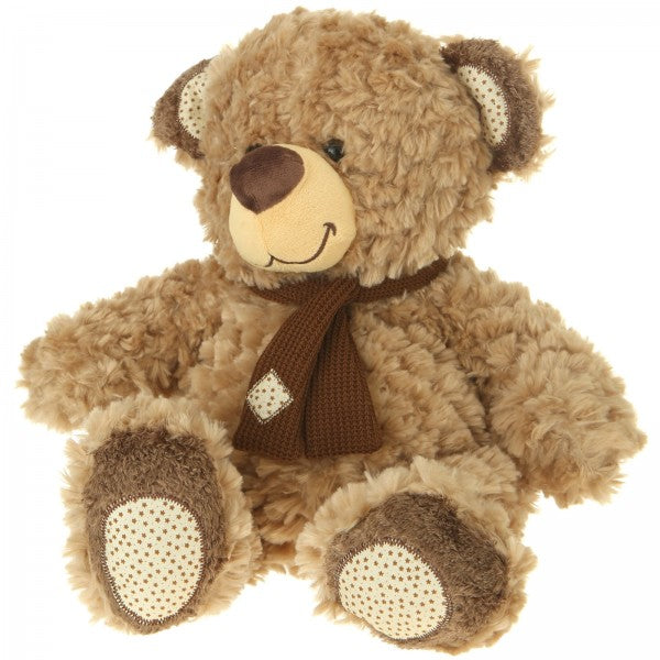 "10"" Plush Light Brown Bear"