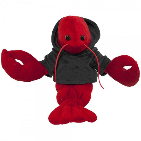 "10"" Plush Lobster With Customizable Hoodie"