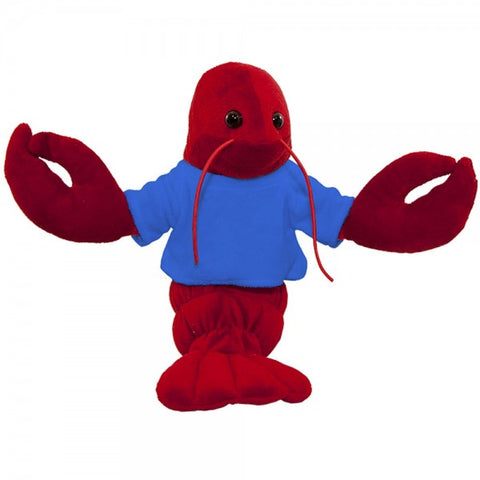 "10"" Plush Lobster With Customizable T-Shirt"