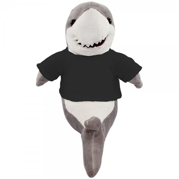 "10"" Plush Shark With Customizable T-Shirt"