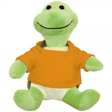 10 Plush Turtle With Customizable T-Shirt
