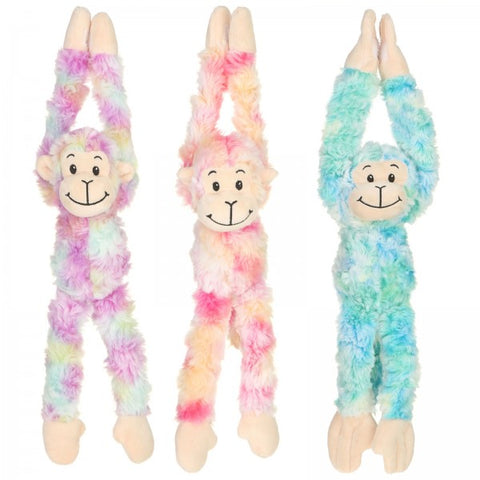 "12"" Assorted Plush Long Arms Monkey"