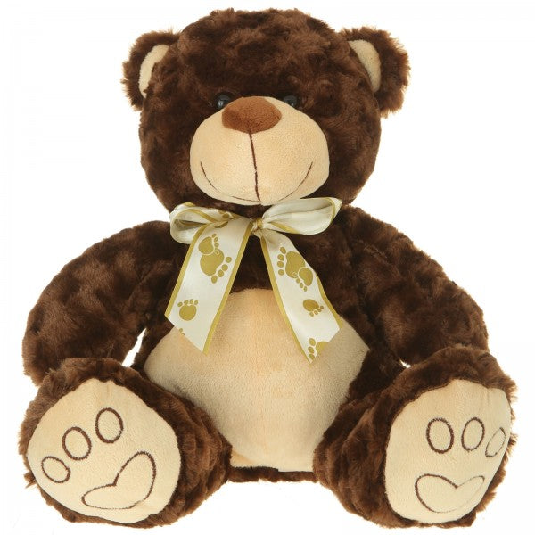"13"" Plush Dark Brown Bear"