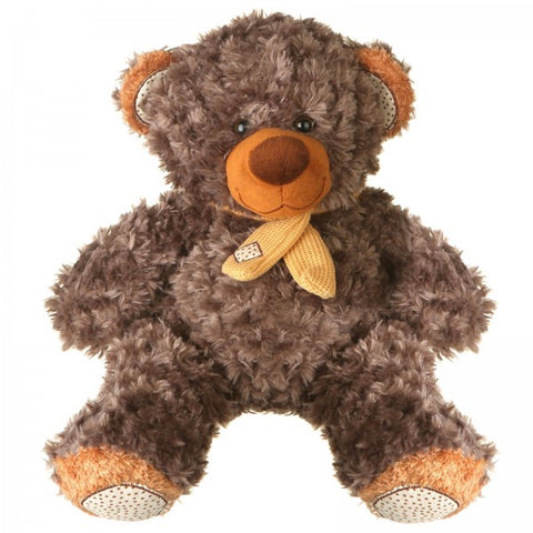 "13"" Plush Gray Brown Bear"